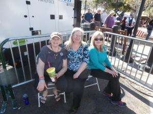 Christine (Tia) Jones, LInda Andrews, and Bev (Dani) Petrone